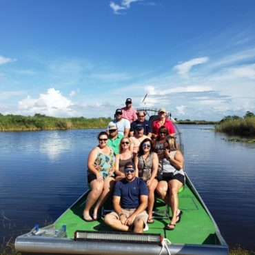 Deerfield airboat rides
